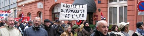 L'association de défense contre la suppression de l'AER