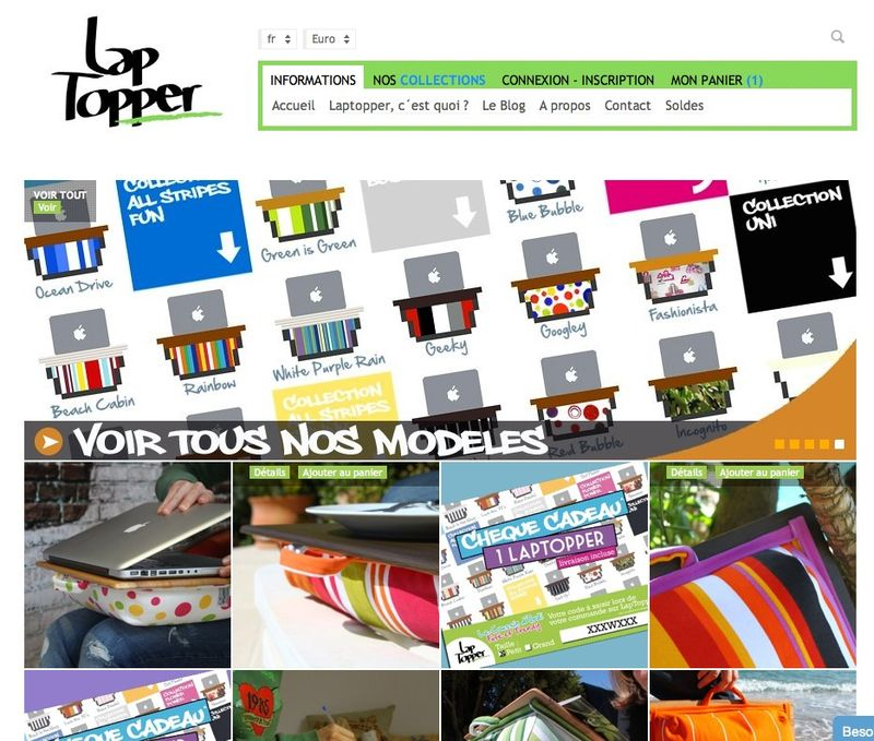Website-laptopper