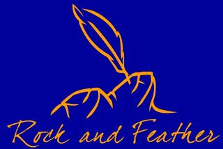 Logo Rock and Feather