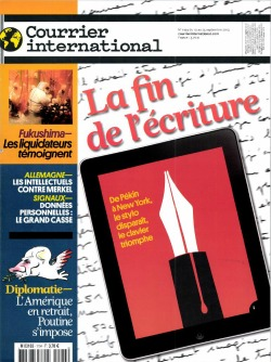 Courrier International du 19 septembre 2013 n°1194
