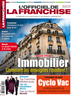 L'Officiel de la Franchise n°136 novembre 2013