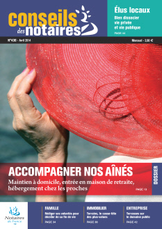 Conseils des Notaires avril 2014 n°436