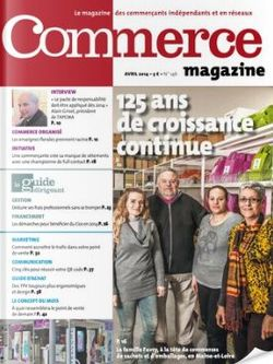 Commerce Magazine avril 2014 n°146