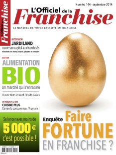 L'Officiel de la Franchise n°144 septembre 2014